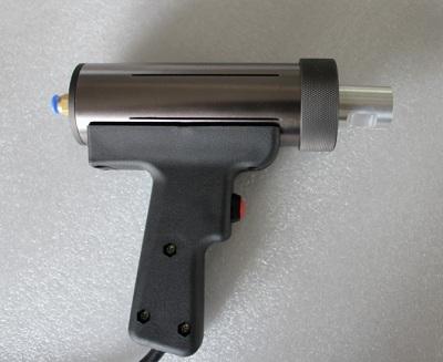 焊接枪:此部件主要承担超声波发生器,将电能转换为美秒2万次高频震动.